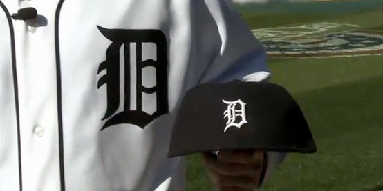 Image of Detroit Tigers Old English D