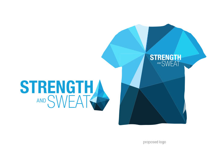 Image of the Strength & Sweat proposed logo