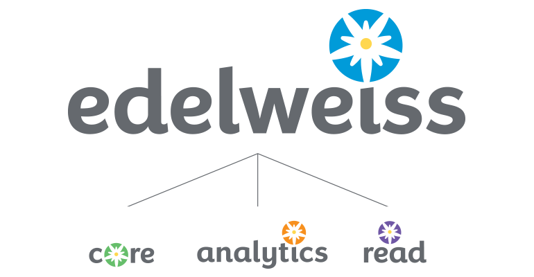 Image of the Edelweiss family of logos