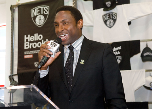 Image of Brooklyn Nets Coach Avery about the redesign