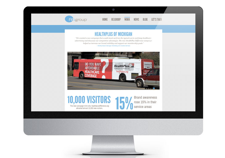 Image of re:group case study page